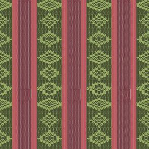 Knitted Snakeskin Stripe | Cider Apple