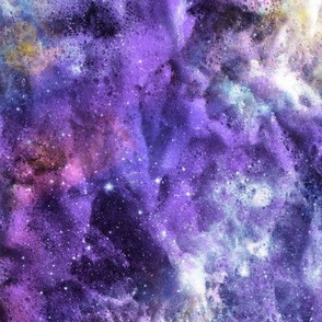 SEA FOAM NEBULA PURPLE VIOLET