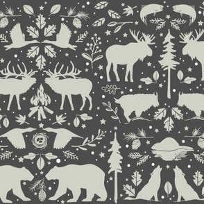 Wilderness Animal Pattern