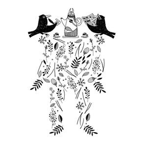 Odin (black&white)