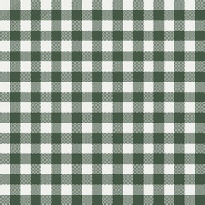 "hunter green check fabric - sfx0315 - 1/2"" squares - check fabric, neutral plaid, plaid fabric, buffalo plaid"