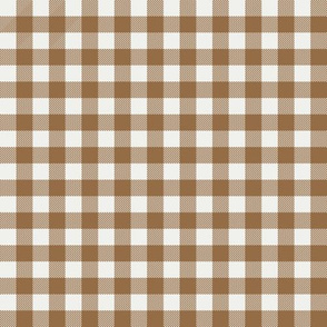 "chipmunk check fabric - sfx1044 - 1/2"" squares - check fabric, neutral plaid, plaid fabric, buffalo plaid"