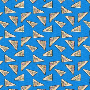 Fairy Bread in Blue, Ditsy, Small