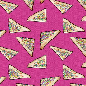 Fairy Bread in Pink, Ditsy, Large