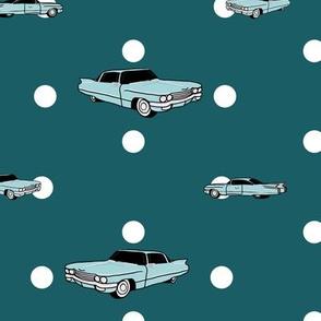 Cadillacs and polka dots