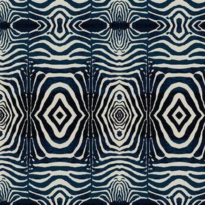 Ink & Ivory  Zebra Print