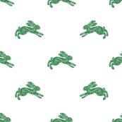 Green Dala Rabbit