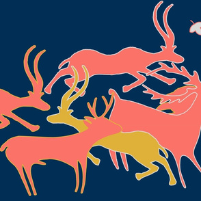 Limited Color Palette_running_animals