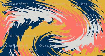 Swirls - 2019 Pantone Colour Of The Year