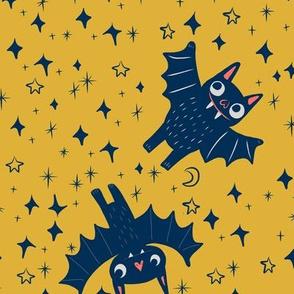 Bats on Mustard