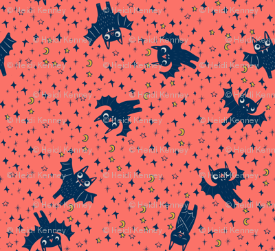 Bats on Coral