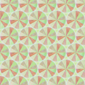 spin green red