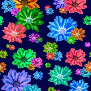 Rainbow Fleur - blue