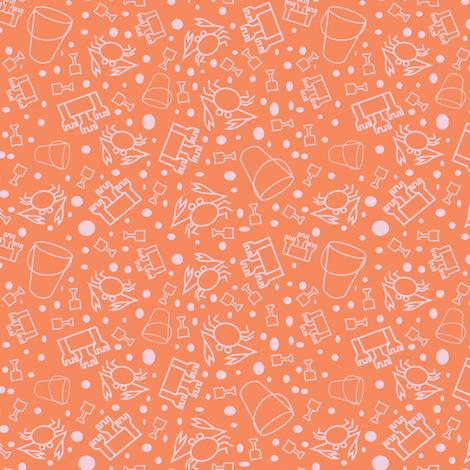 crabby sand fabric by pamelachi on Spoonflower - custom fabric