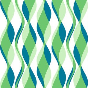 Cellophane Streamers - Custom Blue-Green