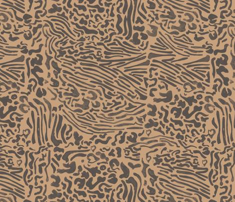 dierenpatroonyes2 fabric by ljanneke on Spoonflower - custom fabric