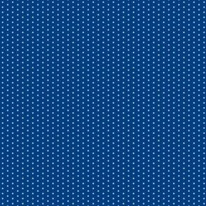 Blue dots on Navy