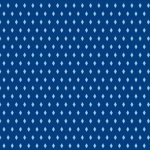 blue diamonds on navy