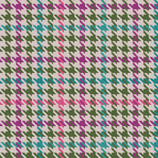 Plaid in Pink Purple Green and Teal