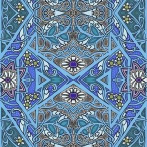 Blue Garden Geometry