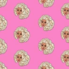 rupaul fabric - drag race, drag, rupaul fabric - pink