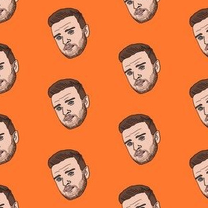 justin - justin current look, actor, pop music, musician, boy band, - orange