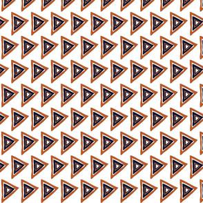 white-rust-navy triangle