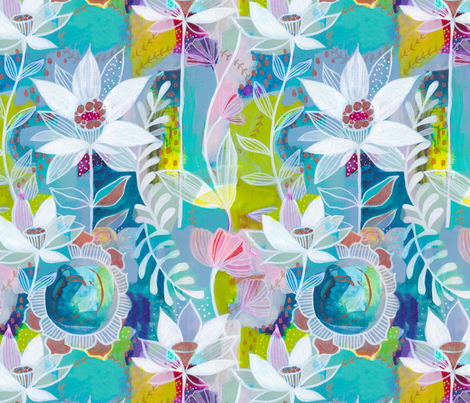 Everyday Magic  fabric by cynthiafrenette on Spoonflower - custom fabric