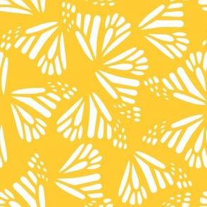 Butterfly Wings Butter Yellow