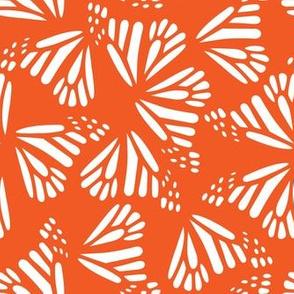 Butterfly Wings Monarch Orange