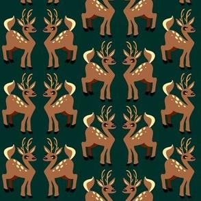 Deer Holiday Set 4
