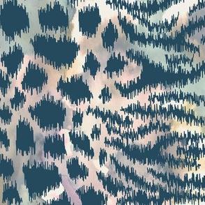 Animal Skin Ikat