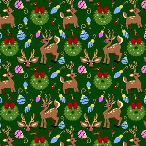 Deer Holiday Set 1