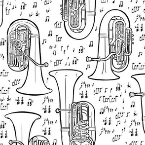 Medium Tuba Fabric