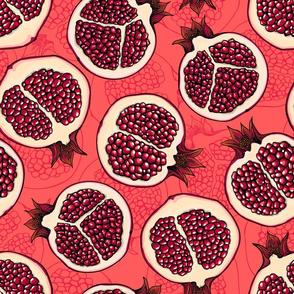 Pomegranate slices 2