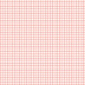 Plaid 6 Melon On White 1:6