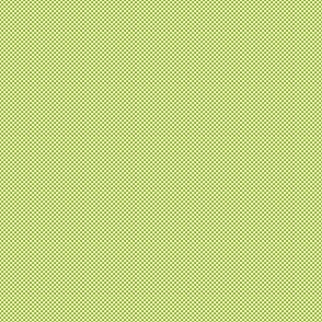 Checkerboard Small Apple Green And White