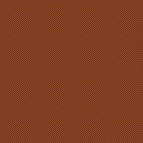Checkerboard Small Black And Pumpkin Orange