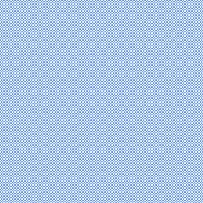 Checkerboard Small Cornflower Blue And White