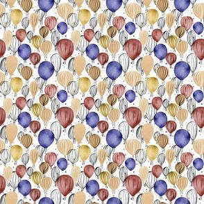 Hot Air Balloons - smaller scale