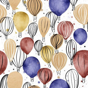 Hot Air Balloons - larger scale
