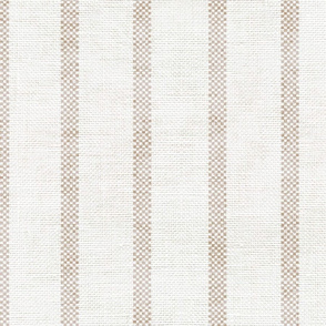 AEGEAN WIDER SPACED TICKING JUTE