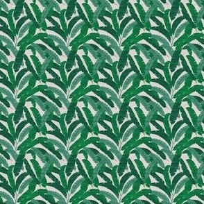 FRENCH LINEN BANANA LEAF MICRO