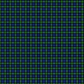 "Gordon Highlanders tartan, modern colors, 1"""