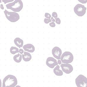 Soft Frangipani Lace in Lavender
