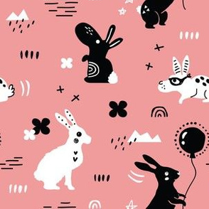 different rabbits