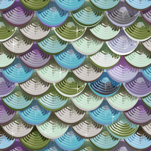 Fish scales | blue'n green