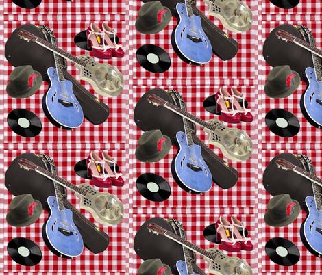 Ready to rockabilly fabric by twilfley on Spoonflower - custom fabric