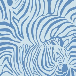 Zebra Breach blue