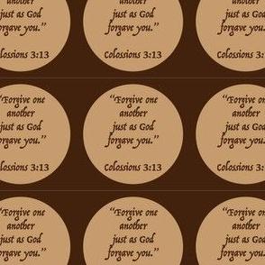 Forgiveness verse